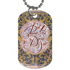 Panic! At The Disco Dog Tag (one Side) by Onesevenart