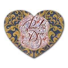 Panic! At The Disco Heart Mousepads by Onesevenart
