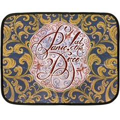 Panic! At The Disco Fleece Blanket (mini) by Onesevenart