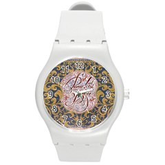 Panic! At The Disco Round Plastic Sport Watch (m) by Onesevenart