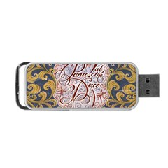 Panic! At The Disco Portable Usb Flash (one Side) by Onesevenart