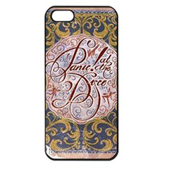 Panic! At The Disco Apple Iphone 5 Seamless Case (black) by Onesevenart