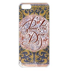 Panic! At The Disco Apple Iphone 5 Seamless Case (white) by Onesevenart