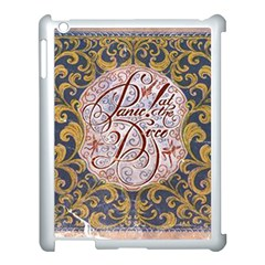 Panic! At The Disco Apple Ipad 3/4 Case (white) by Onesevenart