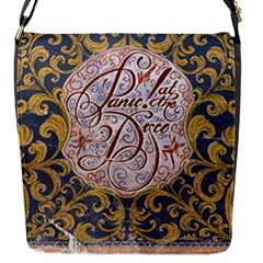 Panic! At The Disco Flap Messenger Bag (s) by Onesevenart