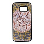 Panic! At The Disco Samsung Galaxy S7 Black Seamless Case