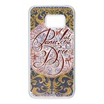 Panic! At The Disco Samsung Galaxy S7 White Seamless Case