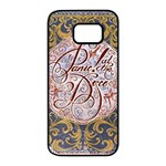Panic! At The Disco Samsung Galaxy S7 edge Black Seamless Case