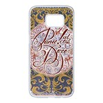 Panic! At The Disco Samsung Galaxy S7 edge White Seamless Case