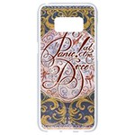 Panic! At The Disco Samsung Galaxy S8 White Seamless Case