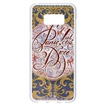 Panic! At The Disco Samsung Galaxy S8 Plus White Seamless Case