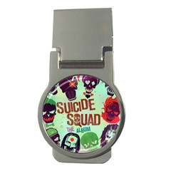 Panic! At The Disco Suicide Squad The Album Money Clips (round)  by Onesevenart
