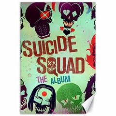 Panic! At The Disco Suicide Squad The Album Canvas 24  X 36  by Onesevenart