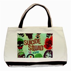 Panic! At The Disco Suicide Squad The Album Basic Tote Bag (two Sides) by Onesevenart