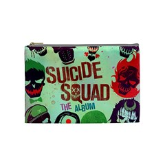 Panic! At The Disco Suicide Squad The Album Cosmetic Bag (medium)  by Onesevenart