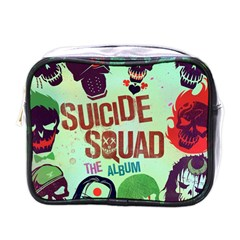 Panic! At The Disco Suicide Squad The Album Mini Toiletries Bags by Onesevenart
