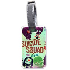 Panic! At The Disco Suicide Squad The Album Luggage Tags (one Side)  by Onesevenart