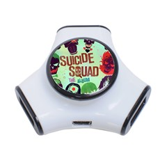 Panic! At The Disco Suicide Squad The Album 3 Port Usb Hub by Onesevenart