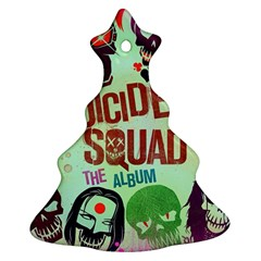 Panic! At The Disco Suicide Squad The Album Christmas Tree Ornament (two Sides) by Onesevenart