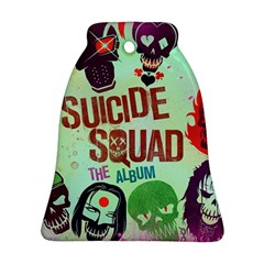 Panic! At The Disco Suicide Squad The Album Bell Ornament (two Sides) by Onesevenart