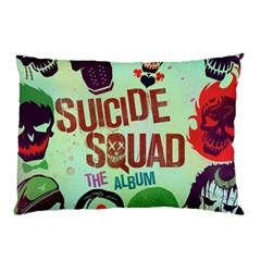 Panic! At The Disco Suicide Squad The Album Pillow Case (two Sides) by Onesevenart
