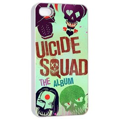 Panic! At The Disco Suicide Squad The Album Apple Iphone 4/4s Seamless Case (white) by Onesevenart