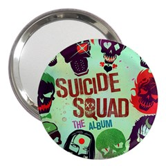 Panic! At The Disco Suicide Squad The Album 3  Handbag Mirrors by Onesevenart