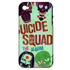 Panic! At The Disco Suicide Squad The Album Apple Iphone 4/4s Hardshell Case (pc+silicone) by Onesevenart