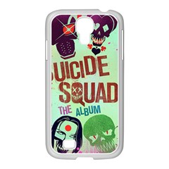 Panic! At The Disco Suicide Squad The Album Samsung Galaxy S4 I9500/ I9505 Case (white) by Onesevenart