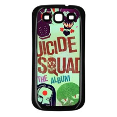 Panic! At The Disco Suicide Squad The Album Samsung Galaxy S3 Back Case (black) by Onesevenart