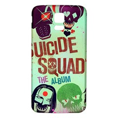 Panic! At The Disco Suicide Squad The Album Samsung Galaxy S5 Back Case (white) by Onesevenart
