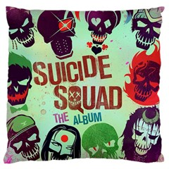 Panic! At The Disco Suicide Squad The Album Large Flano Cushion Case (two Sides) by Onesevenart