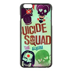Panic! At The Disco Suicide Squad The Album Apple Iphone 6 Plus/6s Plus Black Enamel Case by Onesevenart