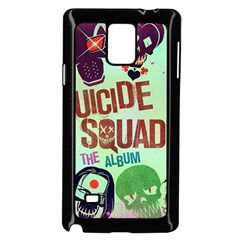 Panic! At The Disco Suicide Squad The Album Samsung Galaxy Note 4 Case (black) by Onesevenart