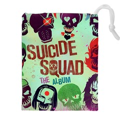 Panic! At The Disco Suicide Squad The Album Drawstring Pouches (xxl) by Onesevenart
