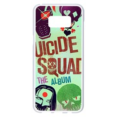 Panic! At The Disco Suicide Squad The Album Samsung Galaxy S8 Plus White Seamless Case by Onesevenart