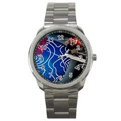 Panic! At The Disco Released Death Of A Bachelor Sport Metal Watch by Onesevenart