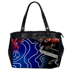Panic! At The Disco Released Death Of A Bachelor Office Handbags by Onesevenart