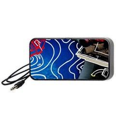 Panic! At The Disco Released Death Of A Bachelor Portable Speaker (black) by Onesevenart