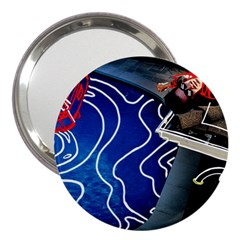 Panic! At The Disco Released Death Of A Bachelor 3  Handbag Mirrors by Onesevenart