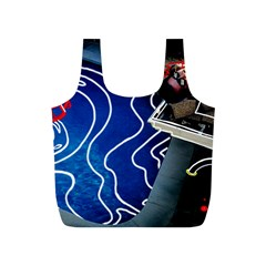 Panic! At The Disco Released Death Of A Bachelor Full Print Recycle Bags (s)  by Onesevenart
