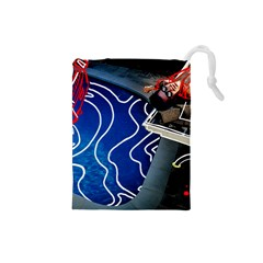 Panic! At The Disco Released Death Of A Bachelor Drawstring Pouches (small)  by Onesevenart