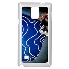 Panic! At The Disco Released Death Of A Bachelor Samsung Galaxy Note 4 Case (white) by Onesevenart