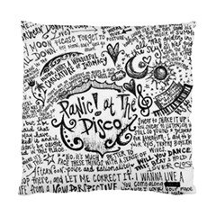 Panic! At The Disco Lyric Quotes Standard Cushion Case (one Side) by Onesevenart