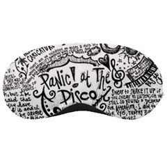 Panic! At The Disco Lyric Quotes Sleeping Masks by Onesevenart