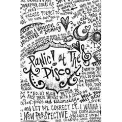 Panic! At The Disco Lyric Quotes 5 5  X 8 5  Notebooks by Onesevenart