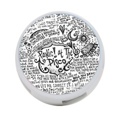 Panic! At The Disco Lyric Quotes 4 Port Usb Hub (one Side) by Onesevenart