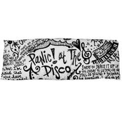 Panic! At The Disco Lyric Quotes Body Pillow Case (dakimakura) by Onesevenart