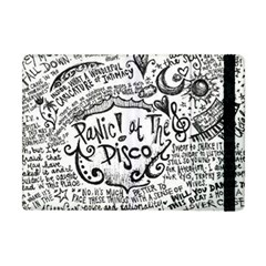 Panic! At The Disco Lyric Quotes Apple Ipad Mini Flip Case by Onesevenart