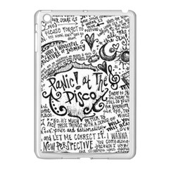 Panic! At The Disco Lyric Quotes Apple Ipad Mini Case (white) by Onesevenart